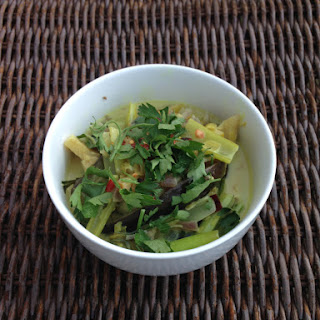 Lemongrass And Apple Coconut Curry