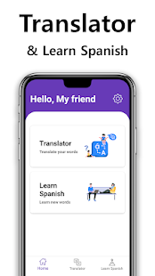 Download Translator & Learn Spanish Ad-free For PC Windows and Mac apk screenshot 3