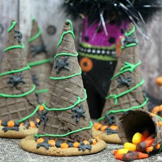 Halloween Witch Hats Cookies