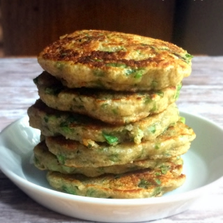Amaranth-Green Onion Fritters {V+GF} Recipe