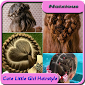 Little Girl Hairstyle Tutorial icon