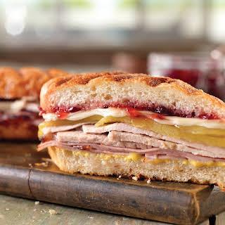 Hot and Sweet Cubano Sandwich.