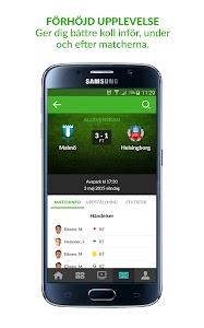Fotbollskanalen screenshot 4