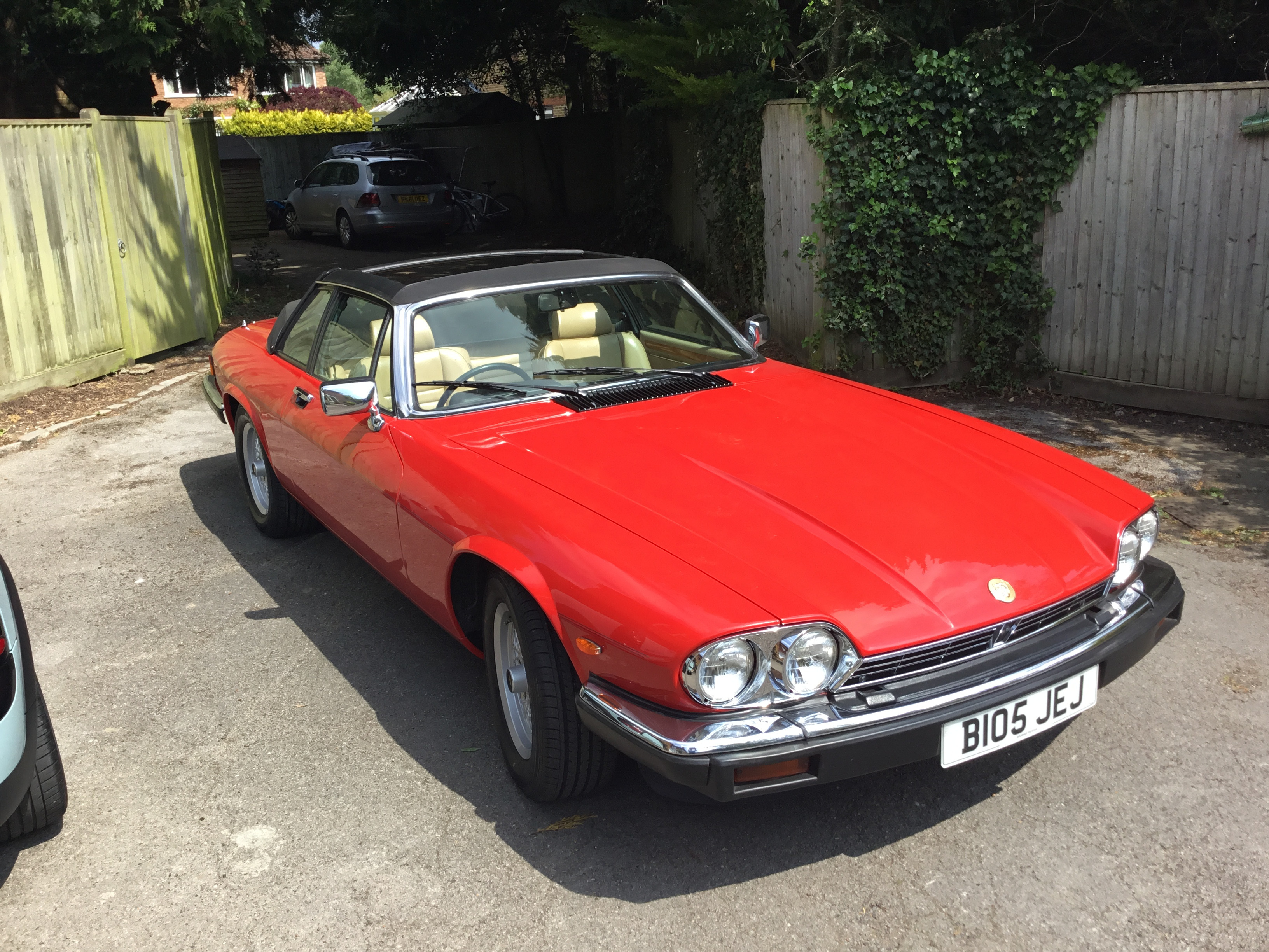 Jaguar Xjs Targa Convertible Hire Farnham Common