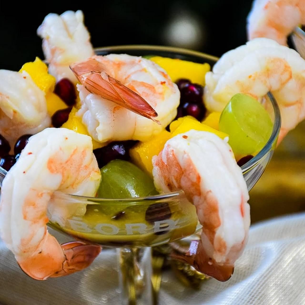 Shrimp Fruit Salad Recipe Chinese