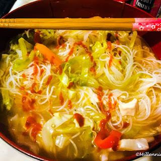 Simple Spicy Asian Chicken Noodle Soup