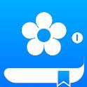 Holo blue theme - Free icon