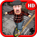 Tightrope Unicycle Master3D HD icon