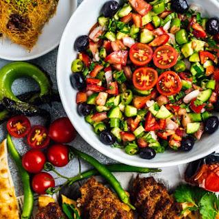 Chopped Turkish Salad.