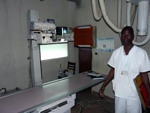 Photo: le service de radiologie vient d'acquérir du matériel plus récent qui soulage les spécialistes