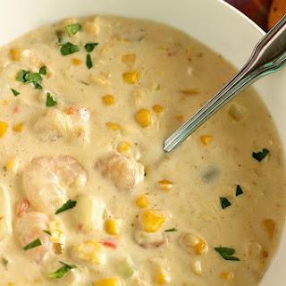 Creamy Shrimp & Corn Soup Recipe