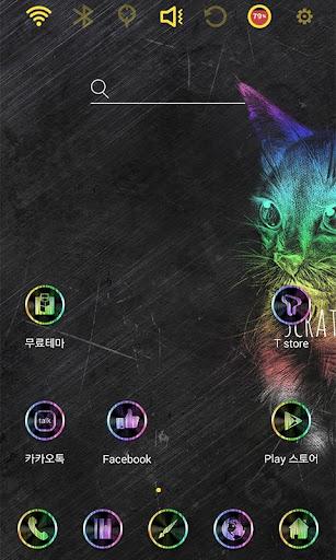 Scratch Cat Launcher Theme
