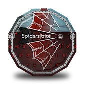 Spiders bite GO Keyboard Theme