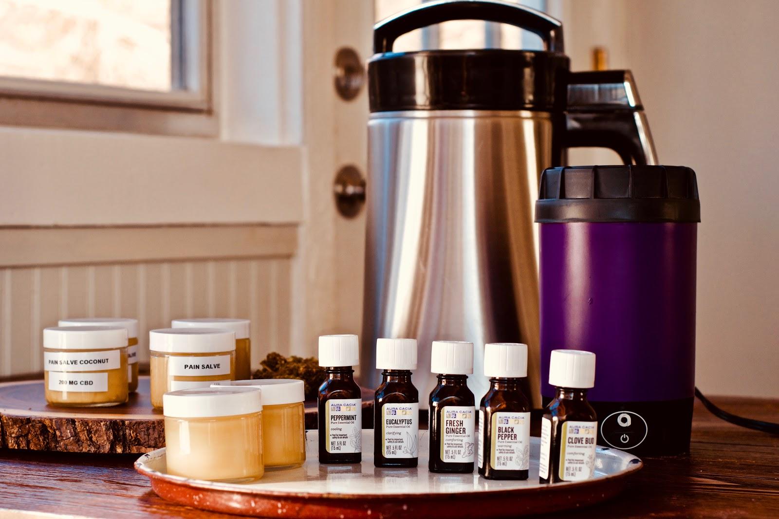 cbd pain relief essential oils