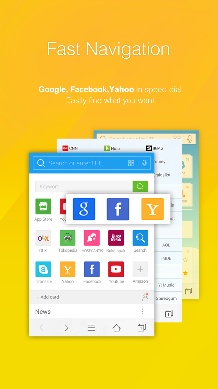 DU Browser—Browse fast & fun screenshot #4