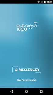 Dubai Eye 103.8 - Messenger- screenshot thumbnail