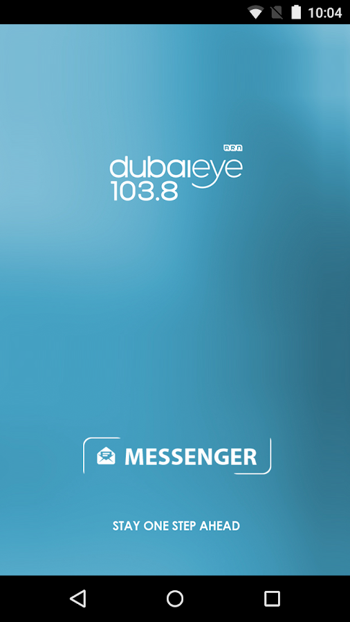 Dubai Eye 103.8 - Messenger- screenshot
