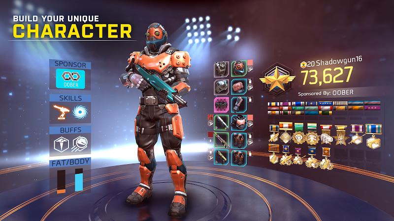 SHADOWGUN LEGENDS: Multiplayer FPS Shooting game Screenshot 5