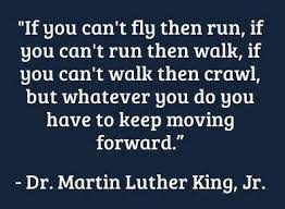 Image result for martin luther king jr quotes if you can't fly
