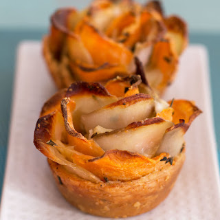 Puff Pastry Potato Roses.