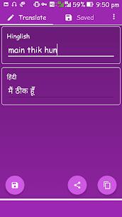 Download Hinglish to Hindi App for Android 1