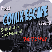Comix Escape: Tig Shed