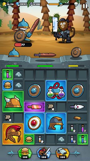 Overloot u2013 Loot, Merge & Manage your gear! android2mod screenshots 7