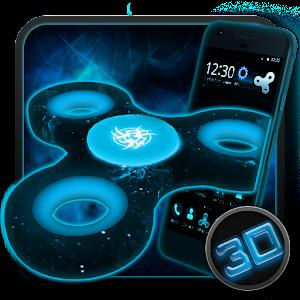 Fidget Spinner Space 3D Theme
