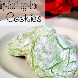 Gluten-Free, Dairy-Free, Egg-Free Crinkle Cookies.