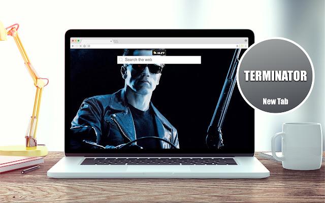 Terminator Wallpapers New Tab Theme