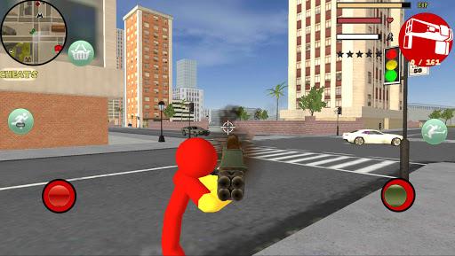 PC u7528 Iron Stickman Rope Hero Gangstar Crime 2