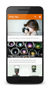 Photo Tips PRO - Learn Photography - náhled