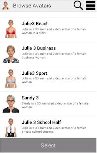 My virtual girlfriend Julia screenshot
