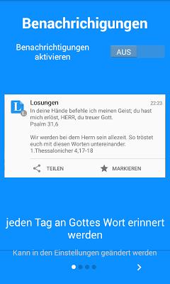 Daily words - screenshot