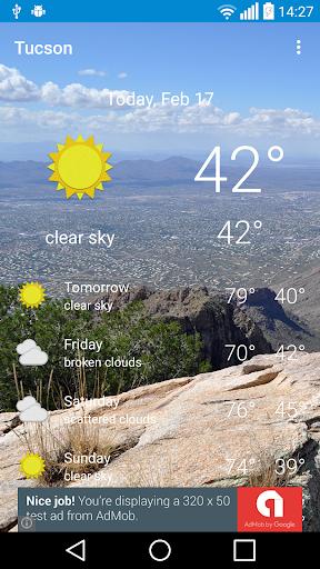 Tucson AZ - weather