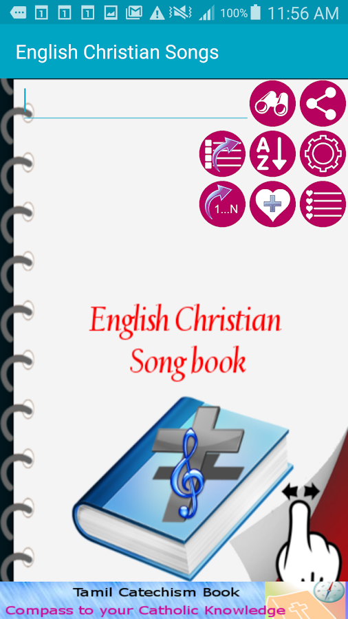 English Christian Song Book- screenshot