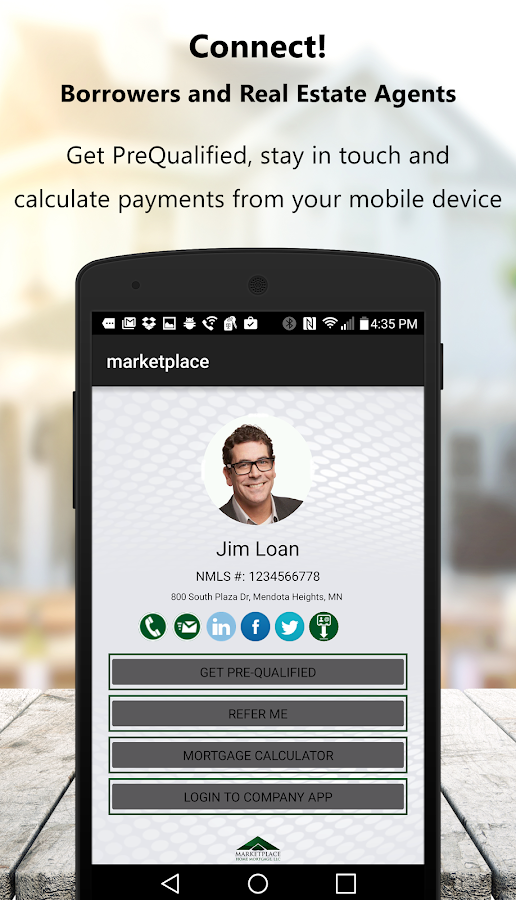 Marketplace Home Mortgage- screenshot
