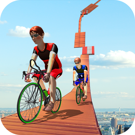 Impossible Tracks BMX Cycle Rider Stunts