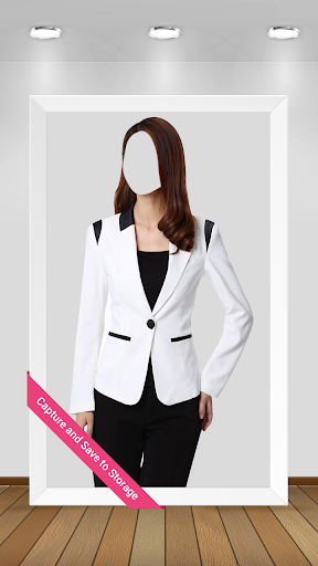 Women Jacket Suit PhotoMontage