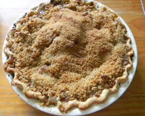 French Crumb Apple Pie
