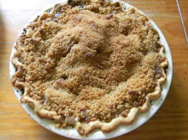 French Crumb Apple Pie Recipe