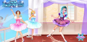 Ice Swan Ballet Princess Salon