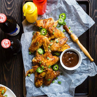 BBQ Paleo Chicken Wings in the Slow Cooker.