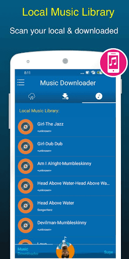 Free Music Downloader + Mp3 Music Download Songs 1.0.5 Screenshots 7