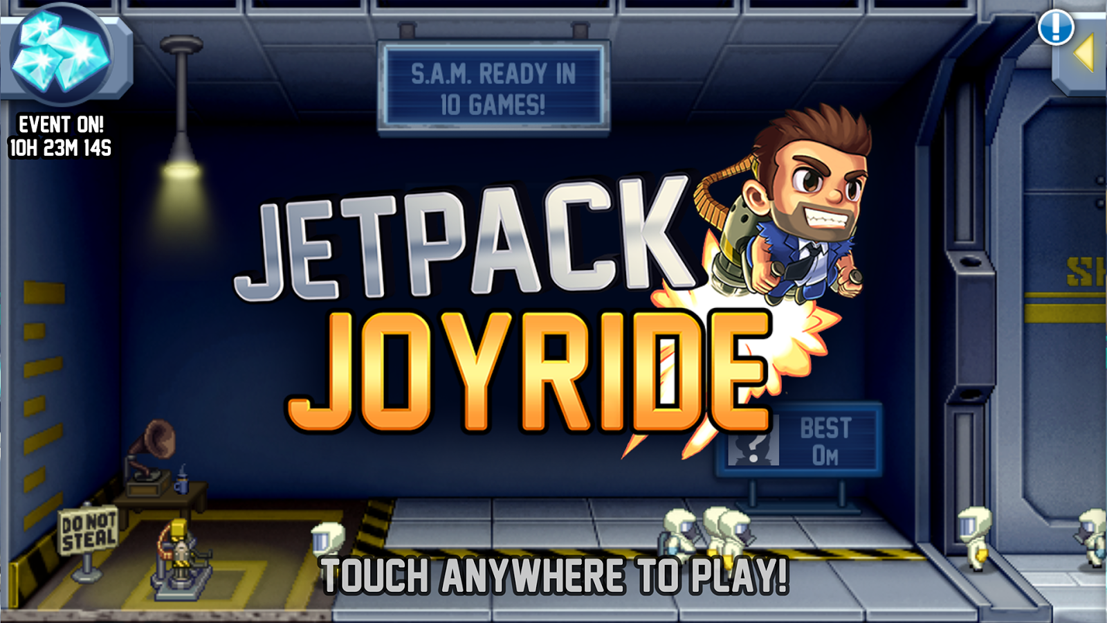 Joyride jetpack game Phone for android phone