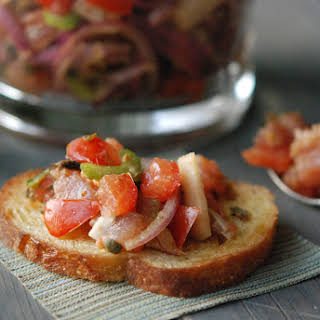 Vietnamese Spicy Tuna Salad.