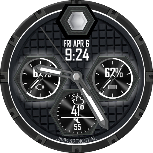 HEX FORCE color changer Watchface for WatchMaker