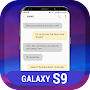 SMS Theme for Samsung Galaxy S9 - S9 Message APK icon