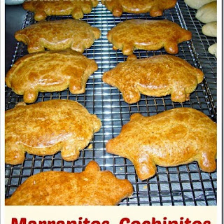 How to Make Mexican Little Piggy Cookies / Marranitos