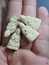 45 บาท พระอวโลกิเตศวร (เจ้าแม่กวนอิม) หลวงพ่อแนม วัดเขาหน่อ นครสวรรค์ ปี 2539
